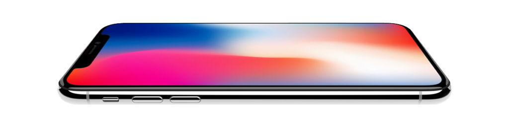 Reapración del iPhone X oficial