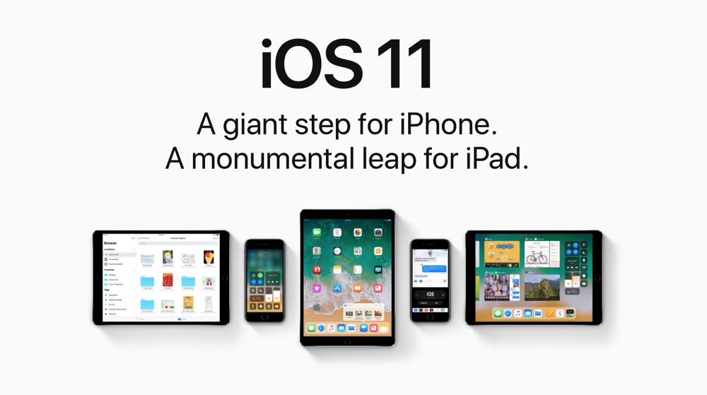 Apple lanza iOS 11.0.3 para arreglar problemas