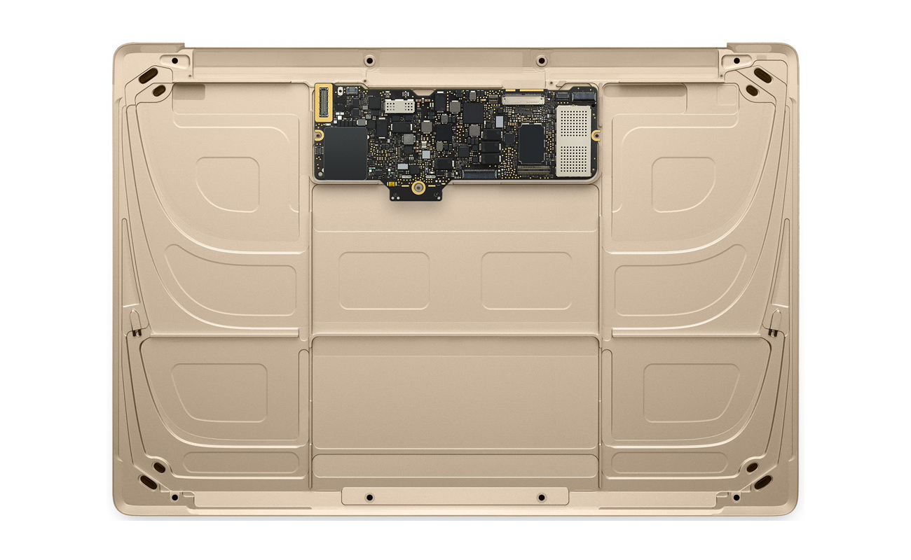 Cambiar la placa base del MacBook con garantías