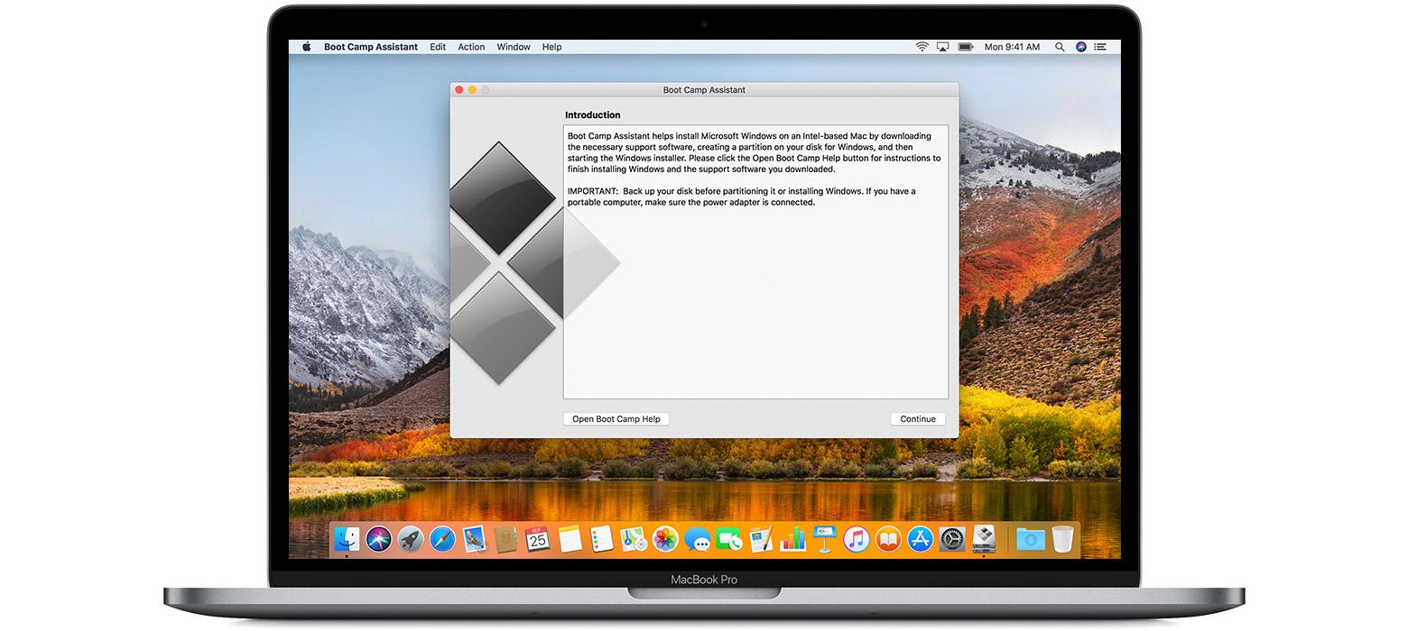 Instalar BootCamp en el Mac para usar Windows