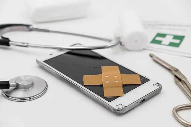 Servicio de reparación de móviles