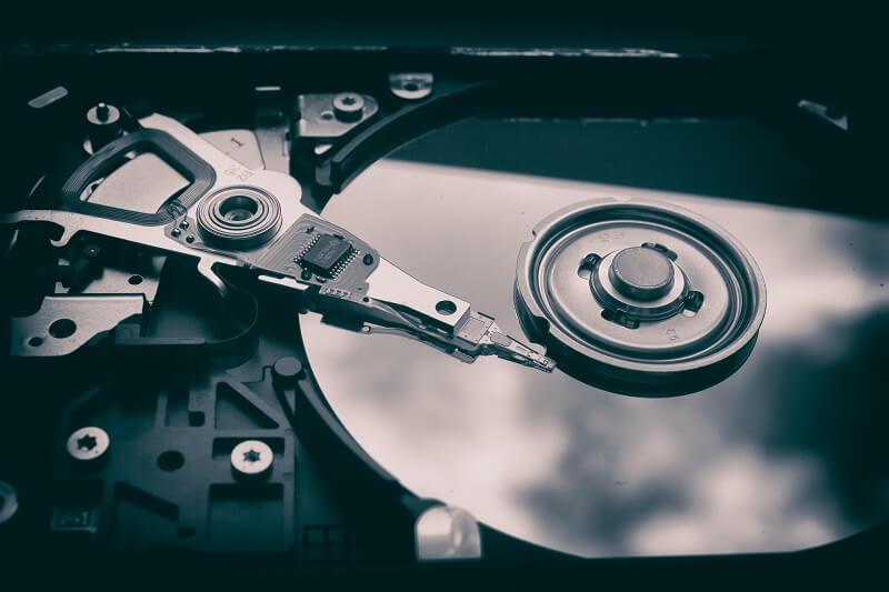 Recuperación de datos del disco duro