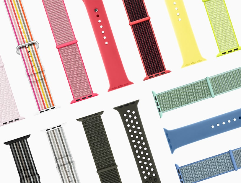 Nuevas correas para el Apple Watch