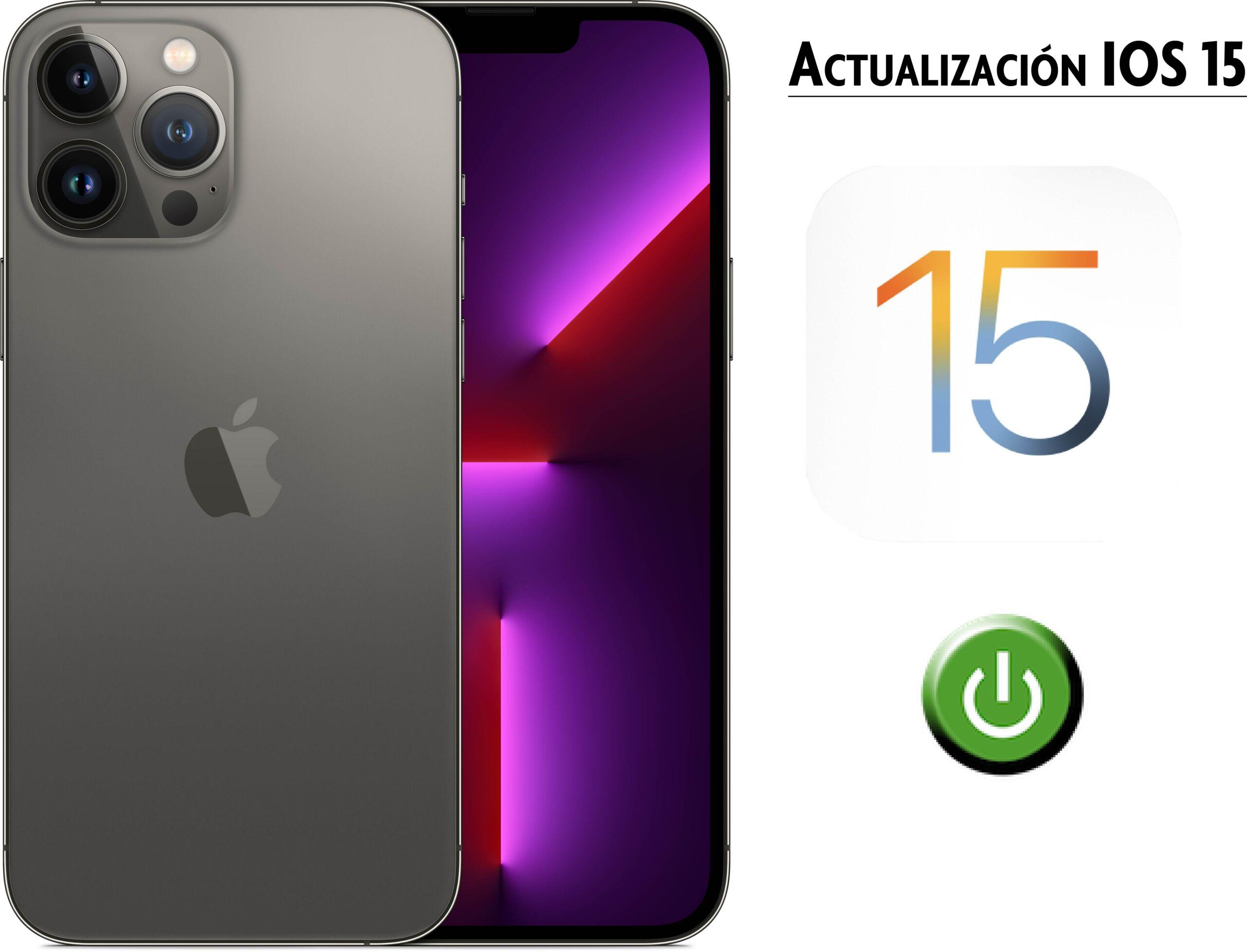 Actualización IOS 15
